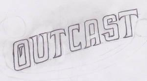 New Outcast Logo Sketch by KBABZ