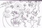 Booger Profile Doodles