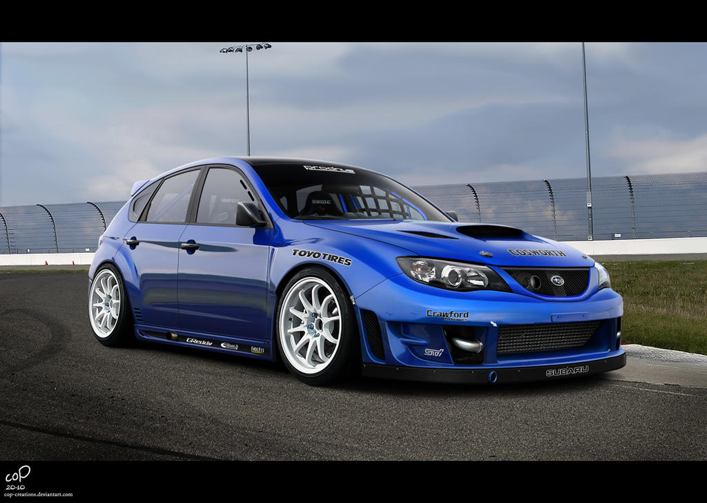 Subaru Impreza Wrx Sti By Cop Creations On Deviantart