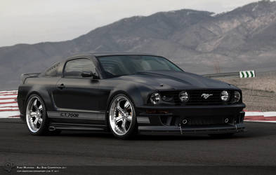 Mustang GT700R by Cop-creations