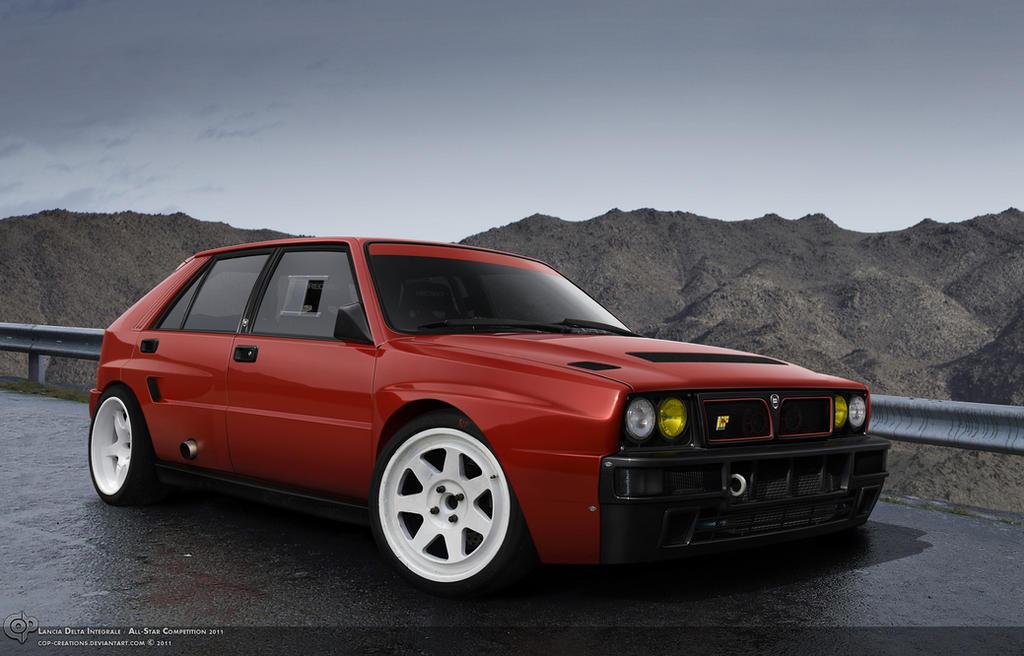 Lancia Delta Integrale by Cop-creations