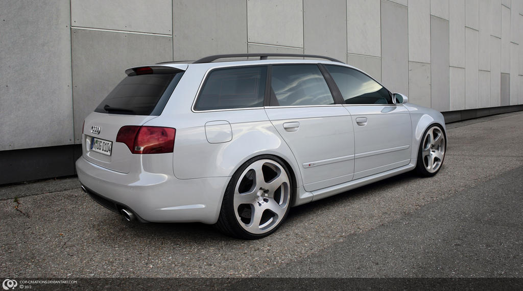 Audi RS4 Avant by Cop-creations