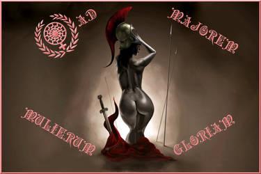 Ad majorem mulierum gloriam by SoeursAryennes