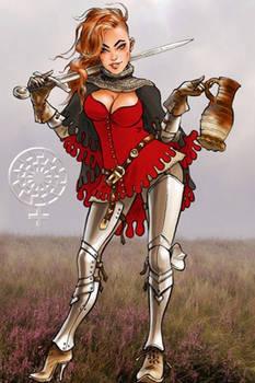 Die Bauerin-Kriegerin
