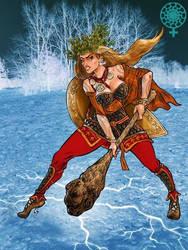 Die Kriegerin von Eis by SoeursAryennes