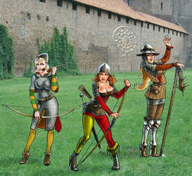 Mittelalterliche Phantasie by SoeursAryennes