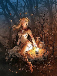 Die Druidin by SoeursAryennes