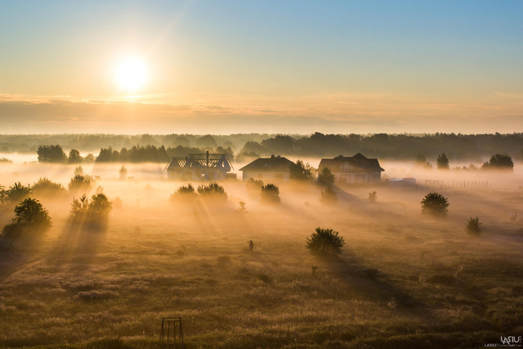 Sunrise by Lasiu7