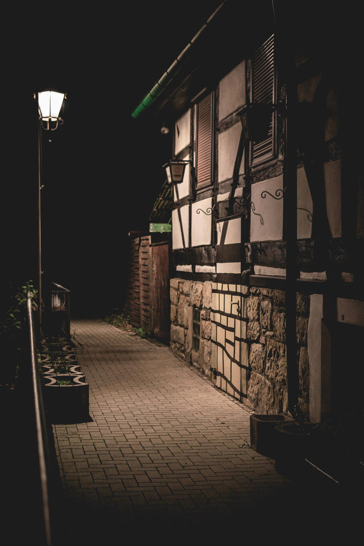 Night walk by Lasiu7