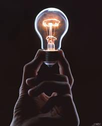 Holding an idea by Lasiu7