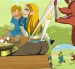 Zelda Wedgie