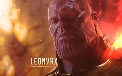 Thanos by Leonvrx