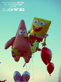 Sponge Bob and Patrick areLOVE