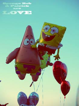 Sponge Bob and Patrick areLOVE