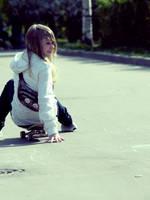 Skater girl by 6igella
