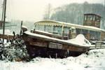 snowy boat by 6igella