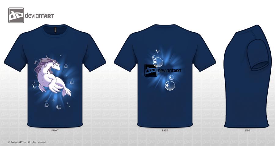 Selkie T-shirt by GoblinHordeStudios