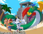 Mayan Mora and Aztec Alejandra 2