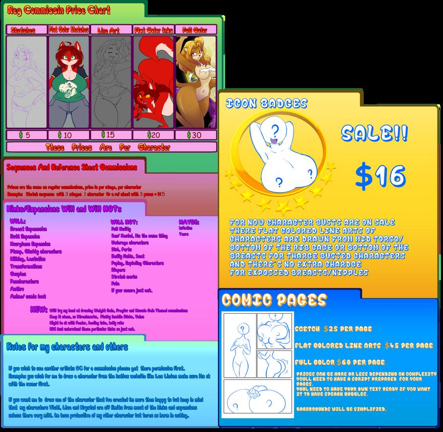 Commission infopage 2014-2015 by GoblinHordeStudios