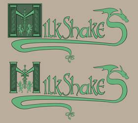 Milkshakes Logo WIP by GoblinHordeStudios