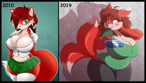 Looking Back Vicki 2010-2019