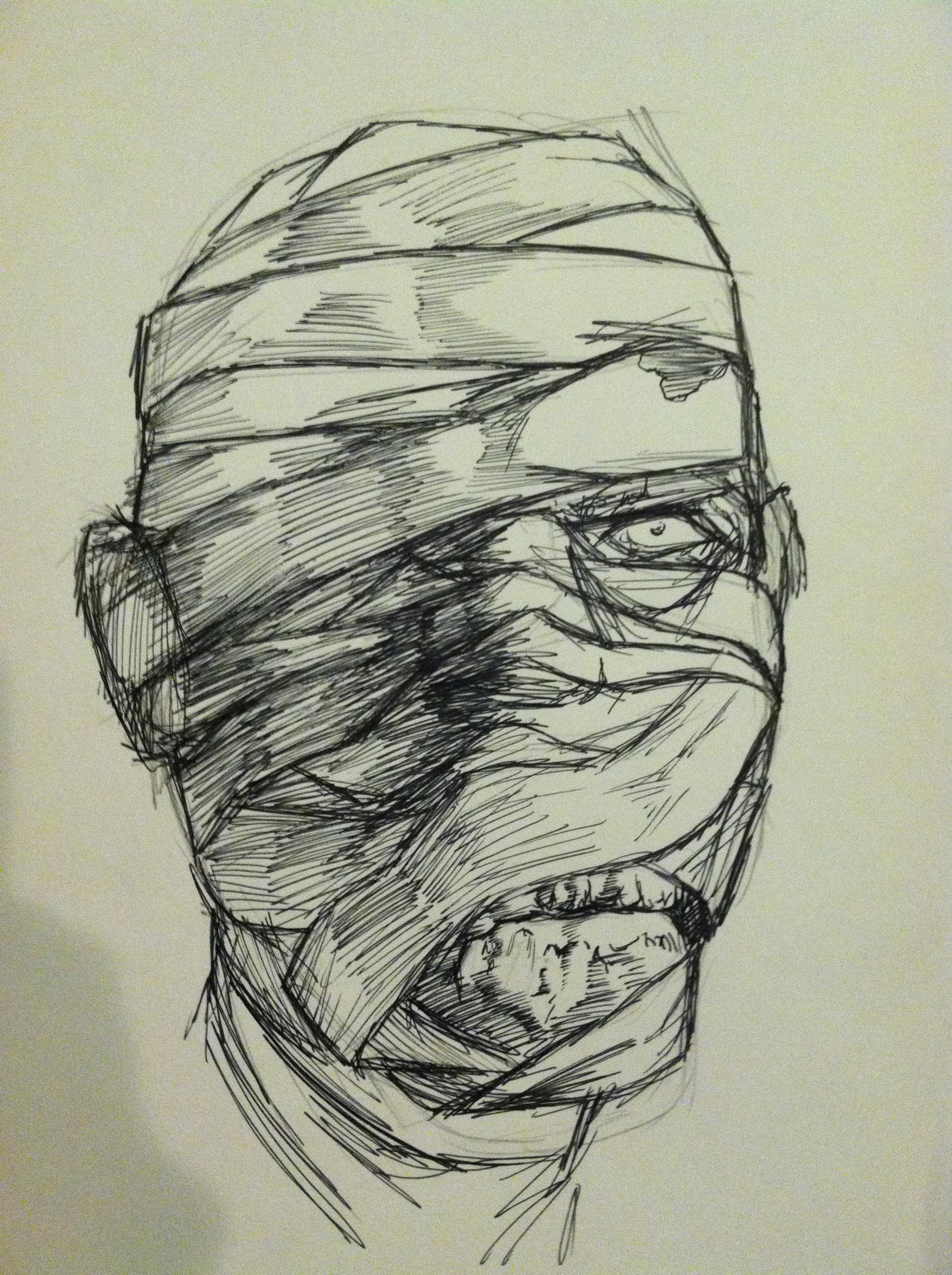 Karloff-esque Mummy by DrRhymes1