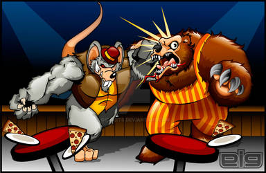 Chuck E Cheese vs Billy Bob