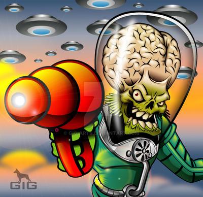 Marsattacks by GIG-Arts