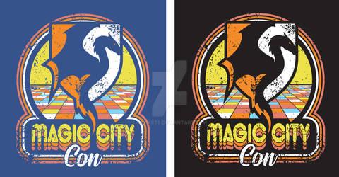 MagicCity Retro Shirt Design