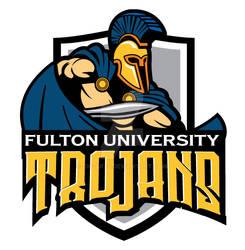 Fulton University Trojans Logo