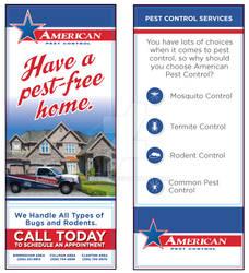 American Pest Control Rip Card
