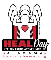 HEAL Day Logo Design