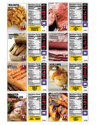 Nutrition Trading Cards