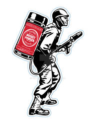 Musket Powder Logo and Decal Design