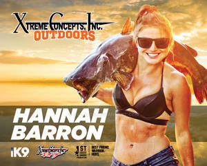 XCI Outdoors Hannah Barron Hero Card Design