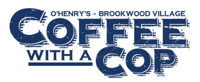 Coffee With A Cop Event Logo Design