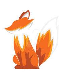 Fire Fox Logo Design