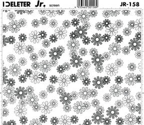 flower tone 1 by screentone