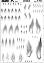 flames 1 by screentone