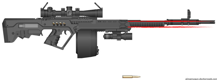 Liger L-99 Sniper Rifle by Excalibur-T005