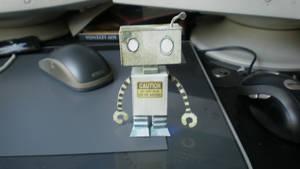 Bad Robot Papertoy by Kamiyari