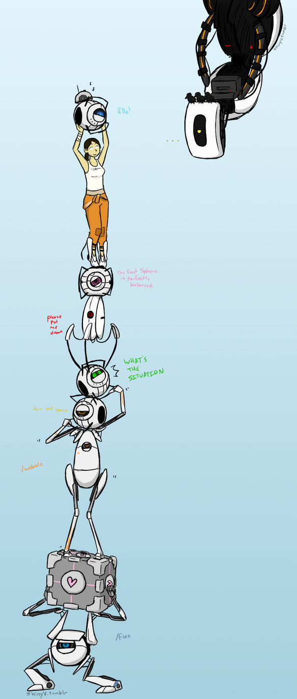 my favorite portal characters by ShinyVulpix