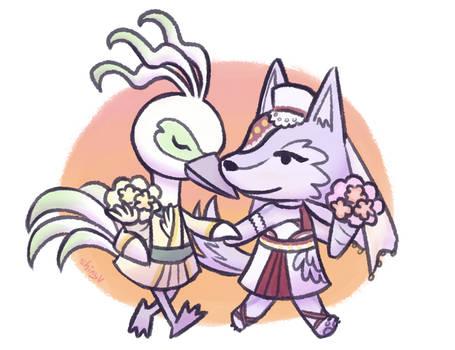 wolf wife heron husband