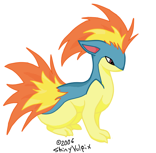 Shiny Quilava Quilava by shinyvulpix