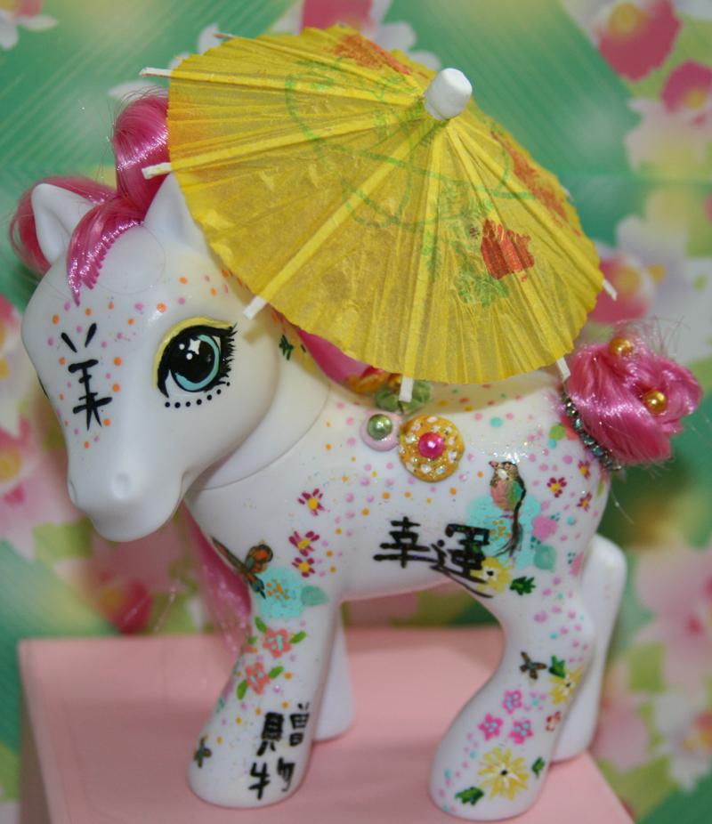 Okurimono little pony by mermaid-splash