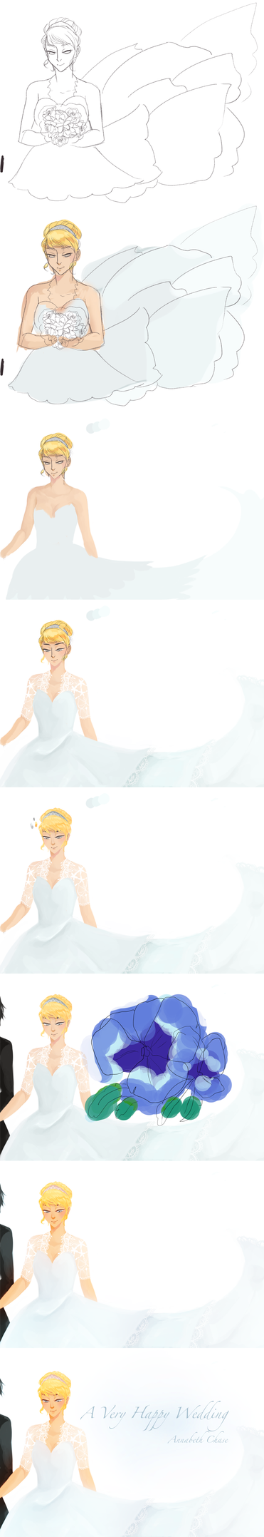 Steps of 'A Very Happy Wedding' by tea52