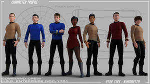 Forrestal: TOS Enterprise Command Crew