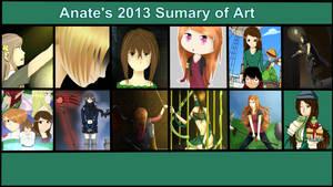 2013 Sumary of Art - AnatexD -