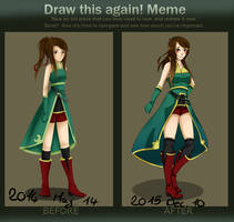 -Draw This Again Meme- [2014-2015] by AnatexD
