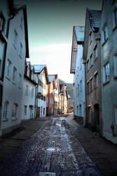 Between old houses by McGoe